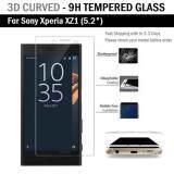 โปรโมชั่น ฟิล์มกันรอย กระจก นิรภัย เต็มจอ เก็บขอบแนบสนิท For Sony Xperia Xz1 สีใส 5 2 Premium Tempered Glass 9H 3D Clear Sony ใหม่ล่าสุด
