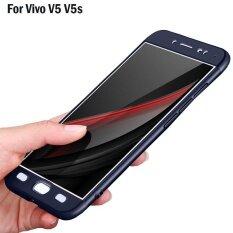 ซื้อ For Vivo V5 V5S Y67 Luxury 360 Full Degree Protect Hard Pc Back Case Cover Casing Intl ใหม่ล่าสุด