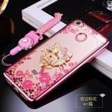ขาย ซื้อ ออนไลน์ For Xiao Mi Redmi Note 5A Prime(3Gb Ram4Gb Ram) Case Electroplated Fashion Silicon With Drill Ring Bracket Back Cover For Xiao Mi Redmi Note 5A Prime(3Gb Ram4Gb Ram) Intl