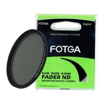 FOTGA 72 mm Fader Variable ND Slim filter Adjustable ND 2 to ND 400 Neutral Density-