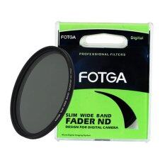 ราคา Fotga 77 Mm Fader Variable Nd Slim Filter Adjustable Nd 2 To Nd 400 Neutral Density Fotga ไทย