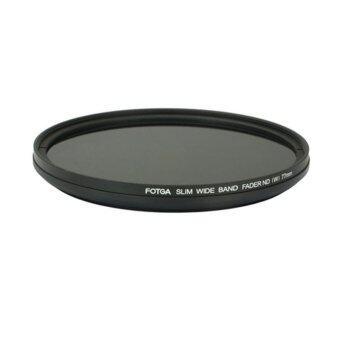 ซื้อดีที่สุด FOTGA 82 mm Fader Variable ND Slim filter Adjustable ND 2 to ND 400 Neutral Density ถูกที่สุดในวันนี้ - มีเพียง ฿1,217.76