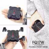 ทบทวน ที่สุด โดรนติดกล้อง Fq777 Fq17W สีดำ Mini Wifi Fpv Drone Foldable Pocket Rc Quadcopter