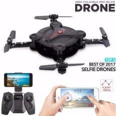 โดรนติดกล้อง Fq777 Fq17W สีดำ Mini Wifi Fpv Drone Foldable Pocket Rc Quadcopter ถูก
