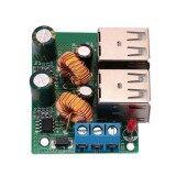 ราคา Free Shipping Audio Electronics 4 Usb Port Buck Step Down Power Converter Module Dc12V 24V 40V To 5V 5A Intl จีน