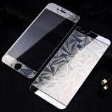 ราคา หน้า ย้อนกลับ 3D กระจกแก้วสีเพชรอารมณ์กันรอยหน้าจอสำหรับ Iphone 6 Plus 6S Plus เงิน จีน