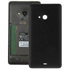ส่วนลด Frosted Surface Plastic Back Housing Cover Replacement For Microsoft Lumia 535 Black Intl