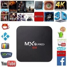 ราคา Fuchun Mxq Pro Android Tv Box S905 4K Digital Tv Streaming Box Quad Core Android 5 1 Intl จีน