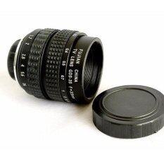 Fujian Lens 35mm F1.7 เลนส์มือหมุน ละลายหลัง โบเก้วน สำหรับกล้อง Mirrorless (Black/Silver)