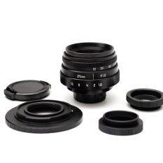 ราคา Fujian เลนส์แมนนวล Fujian 25Mm 1 8 สำหรับกล้องมิเรอร์เลสโซนี่ เป็นต้นฉบับ