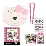 ทบทวน Fujifilm Instax Mini 8 Hello Kitty Pink Film Kitty 10 Sheets Kitty Stickers Strap Kitty Photo Album Fujifilm