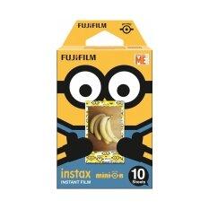 Fujifilm Instax Mini Film ฟิล์มสำหรับกล้องอินสแตนท์ ลายมินเนียน (standard Version) จำนวน 10 แผ่น.