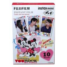 โปรโมชั่น Fujifilm Instax Mini Films Disney Mickey Rock Fujifilm ใหม่ล่าสุด