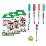 ความคิดเห็น Fujifilm Instax Mini Instant Film 10 Sheets จำนวน 3 Pack ปากกาเขียนฟิล์ม 1 ด้าม คละสี คละแบบ
