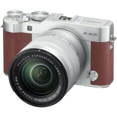 Fujifilm X-A3 Mirrorless 16-50mm Lens (Brown)