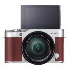 ราคา Fujifilm X A3 Mirrorless 16 50Mm Lens Brown ประกันร้าน Fujifilm เป็นต้นฉบับ