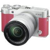 ราคา Fujifilm X A3 Mirrorless 16 50Mm Lens Pink ใหม่