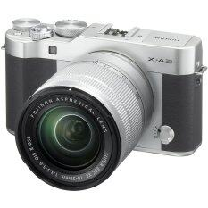 Fujifilm X-A3 Mirrorless 16-50mm Lens (Silver)