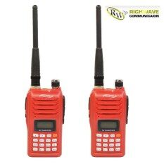 Fujitel วิทยุสื่อสาร FB-6 อุปกรณ์ครบชุด 2 ตัว ถูกกฎหมาย จดใบอนุญาตได้ กำลังส่ง 5 วัตต์