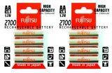 ขาย Fujitsu ถ่านชาร์จ Fujitsu Rechargeable Battery Hr 3Uaex Aa 2700Mah Made In Japan 8Pcs เป็นต้นฉบับ