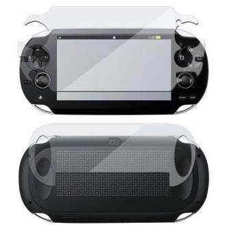 Full Body Front & Back LCD Screen Protector for Sony PS Vita PSV PCH-1000