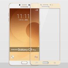ขาย Full Cover Tempered Glass For Samsung Galaxy C9 Pro C9Pro C9000 2 5D 9H Anti Scratch Explosion Proof Screen Protector Film Gold Intl Unbranded Generic ถูก