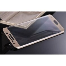 ซื้อ Full Coverage Tempered Glass Film Protector For Samsung Galaxy S6 Edge Gd Golden Intl ใน จีน