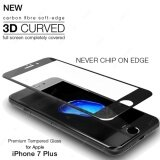 Full Covered 3D Curved Apple Iphone 7 Plus Iphone7 Plus Iphone 7Plus Iphone7Plus Premium Full Cover 3D 9H Tempered Glass Screen Protector Black Intl ใหม่ล่าสุด