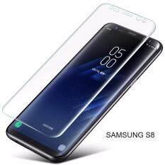 ซื้อ เต็มจอ 3D โค้งกระจกนิรภัยกระจกหน้าจอสำหรับ Samsung Galaxy S8 โปร่งใส ถูก