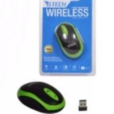 ขาย G Tech Gtwm 7 เมาส์ไร้สาย Gtech Wireless Mouse High Speed 1600Dpi รุ่น Gtwm7 Green Thailand