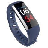ซื้อ G19 สายรัดข้อมือ Heart Rate เครื่องวัดความดันโลหิต Smart Watch กันน้ำ Fitness Tracker สำหรับ Android และ Ios Phone Smart Bracelet ออนไลน์