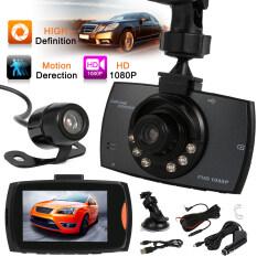 ซื้อ G30B 1080P 2 7นิ้วเลนส์รถคู่ฝากล้องจอ Lcd เครื่อง Dvr กับมองในที่มืด Ma355 ใหม่