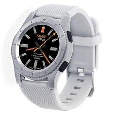 G8 สายรัดข้อมือ Heart Rate เครื่องวัดความดันโลหิต Smart Watch  พร้อม GPS ติดตามเส้นทางสนับสนุนซิมการ์ดสำหรับ Android และ IOS โทรศัพท์