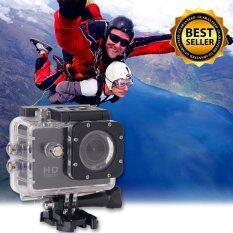GadgetZ กล้องจักรยาน action cam กันน้ำ 30m Full HD (สีดำ)