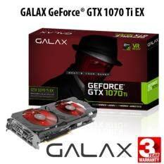 ขาย Galax Geforce® Gtx 1070 Ti Ex Black Rgb 8Gb Ddr5 256 Bit Dp 3 Hdmi Dvi D ออนไลน์