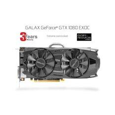 Galaxy VGA GALAX GTX1060 EXOC 6GB DDR5 192 BIT-3 YEARS(BY Ascenti Resources)