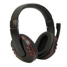 ขาย Gaming Headphone Headband Earphone With Mic Black Ttlife ผู้ค้าส่ง