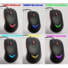 ทบทวน ที่สุด Gaming Mouse 6 Levels Of Dpi Ranging From 750 To 2 750