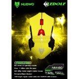ราคา Gaming Mouse เมาส์เล่นเกมส์ Nubwo Ledolf Nm 60 แบบสาย สีเหลือง เป็นต้นฉบับ