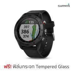 Garmin Approach S60 นาฬิกานักกอล์ฟ GPS (ดำ) ฟรีฟิล์มกระจกกันรอย