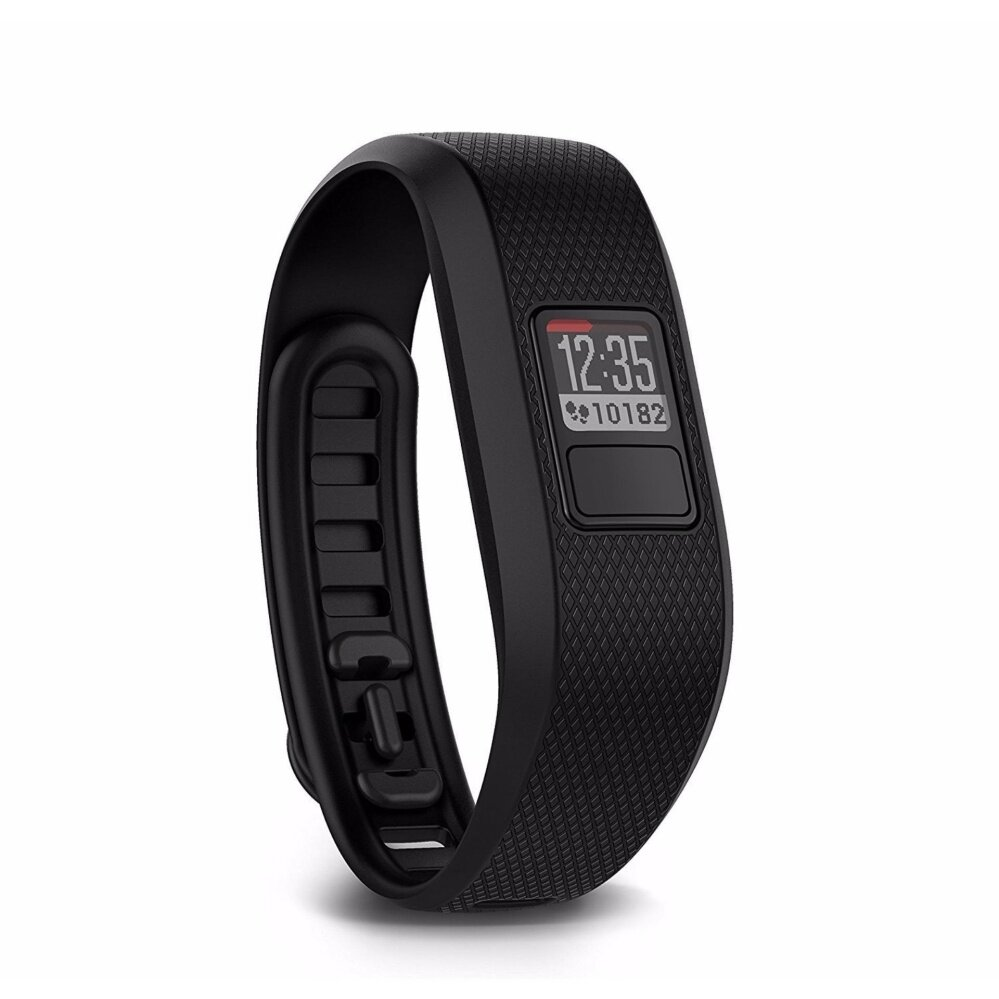 Garmin vivofit 3 Activity Tracker, Regular fit – Black (Certified Refurbished) – intl