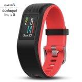 ส่วนลด Garmin Vivosport สีดำ แดง ขนาด S M สายรัดข้อมือ Gps ออกกำลังกายและฟิตเนส วัดอัตราการเต้นหัวใจที่ข้อมือ ไทย