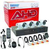 ราคา Gateway Ahd Cctv ชุดกล้องวงจรปิด 4 กล้อง Hd Ahd Kit 1 3 Mp White