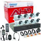 ขาย Gateway Ahd Cctv ชุดกล้องวงจรปิด 8 กล้อง Hd Ahd Kit 1 3 Mp White ออนไลน์ กรุงเทพมหานคร