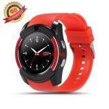 ซื้อ Gd Mobile นาฬิกาโทรศัพท์ Smart Watch รุ่น V8 Bluetooth นาฬิกาบูลทูธ มีกล้อง โทรศัพท์ได้ ใส่ซิมได้ Smart Watch