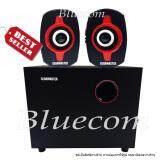 ขาย ซื้อ Gearmaster ลำโพง Speaker 2 1 Ifrit Gms 033 Black Red ไทย