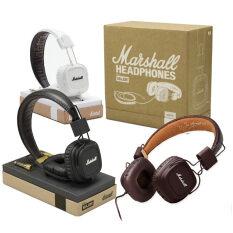 ราคา Major ชุดหูฟังสเตอริโอ Deep Bass แยกเสียงรบกวนพร้อมไมโครโฟนรีโมท สเตอริโอ Hifi Headphone Fone สีดำ Unbranded Generic