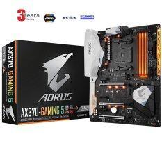 GIGABYTE GA-AX370-Gaming 5 AMD Ryzen CPU AM4 Socket DDR4 PCIe Gen 3 USB 3.1 ATX Motherboard -3 YEARS (By Synnex,SVOA,Scanner)