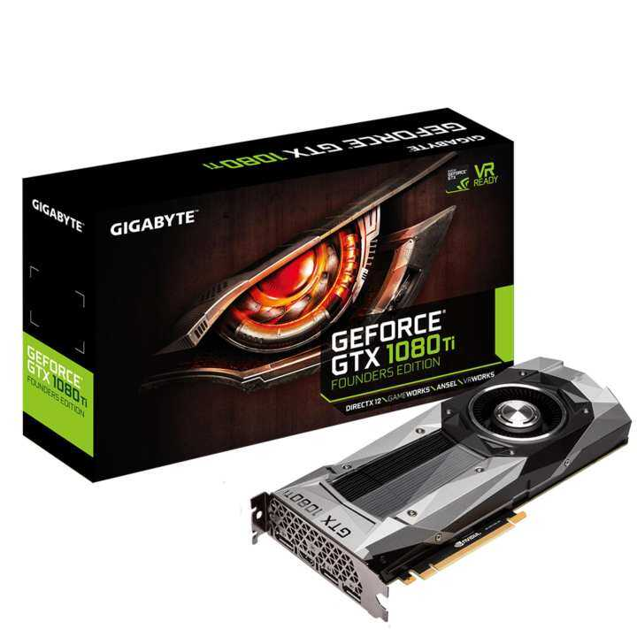 Gigabyte GeForce GTX 1080 Ti Founders Edition Graphics Card
