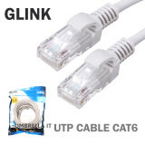 ราคา Glink Utp Cable Cat6 15Mสายแลนสำเร็จรูปพร้อมใช้งาน ยาว15เมตร White ราคาถูกที่สุด